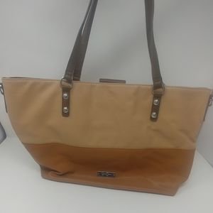 Jessica Simpson Tote bag Brown and tan.